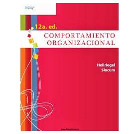 COMPORTAMIENTO ORGANIZACIONAL  12ª Edición