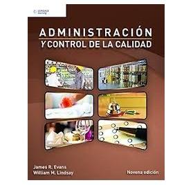 ADMINISTRACION Y CONTROL DE LA CALIDAD 9 ed
