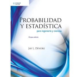 PROBABILIDAD Y ESTADISTICA PARA INGENIERIA Y CIENCIAS  8ª Edición